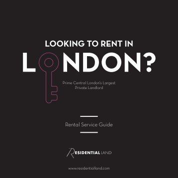 LOOKING TO RENT IN