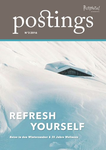 Posthotel - postings No 3 2016