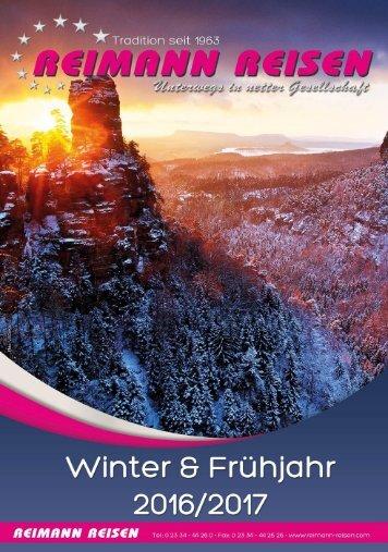Winter & Frühjahr 2016/2017