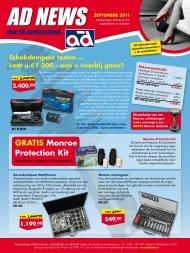 GRATIS Monroe Protection Kit - Auto Distribution Benelux