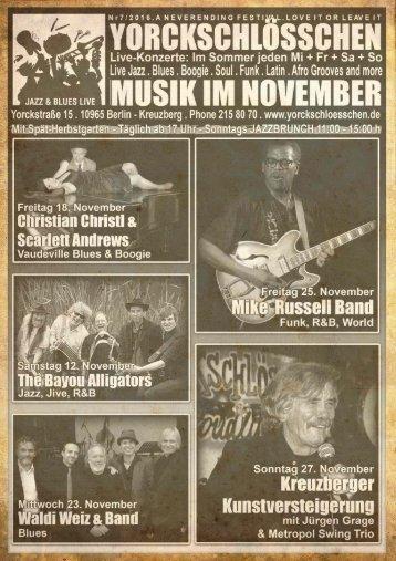 Das November Programm