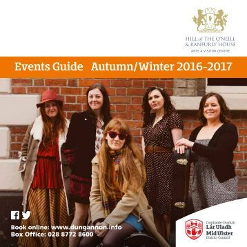 Events Guide Autumn/Winter 2016-2017