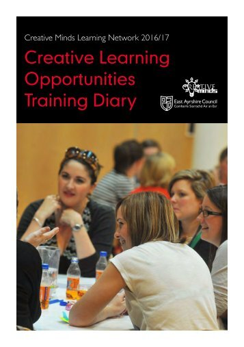 Creative Learning Opportunities Training Diary