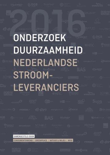 Onderzoek-duurzaamheid-Nederlandse-stroomleveranciers-161014