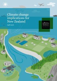 Climate change implications for New Zealand