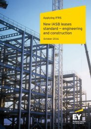 New IASB leases standard — engineering and construction