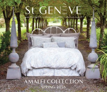spring 2016 brochure Amalfi Collection