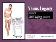 Venus Legacy - Learn more about the advanced Skin Tightening Procedure