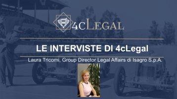 LE INTERVISTE DI 4cLegal