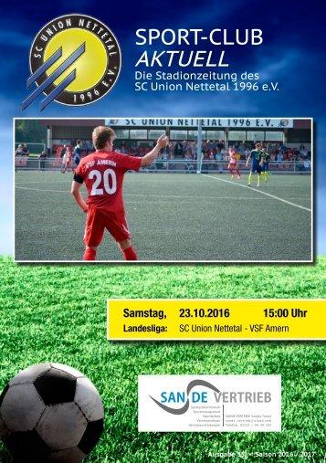 Sport Club Aktuell - Ausgabe 35 - 23.10.2016
