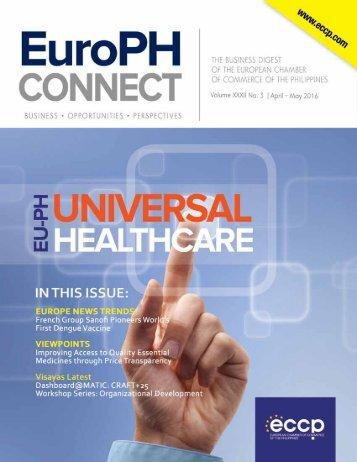 EuroPH Connect | Vol. XXXII No. 3 | April-May 2016