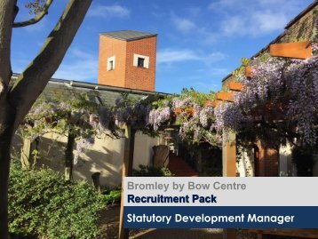 Statutory Development Manager