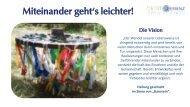 Miteinander geht's leichter - Verein Zentrum Quintessenz, Netzwerk für Pioniere