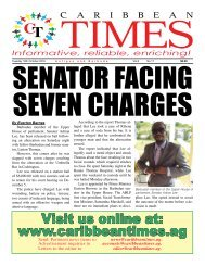 Caribbean Times 17th Issue - Tuesday 18th October 2016