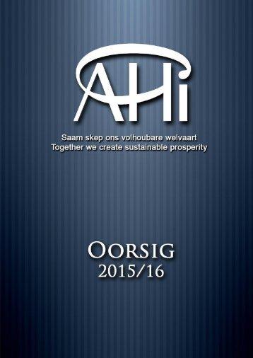 AHI OORSIG 2016 17102016
