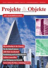 Projekte & Objekte 2/3_2013