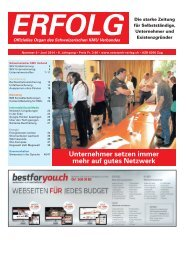 Erfolg_Ausgabe Nr. 6 - Juni 2014