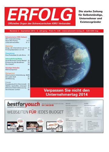 Erfolg_Ausgabe Nr. 9 - September 2014