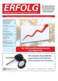 Erfolg_Ausgabe Nr. 10 - Oktober 2015