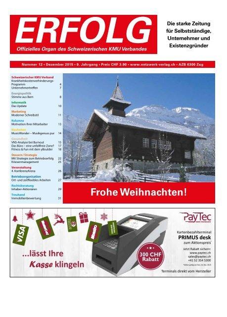 Erfolg_Ausgabe Nr. 12 - Dezember 2015