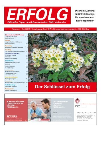 Erfolg_Ausgabe Nr. 4 - April 2016