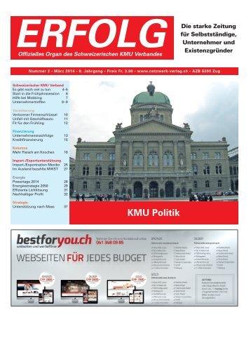 Erfolg_Ausgabe Nr. 3 - März 2014