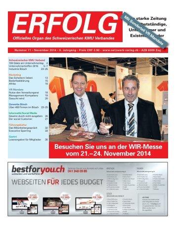 Erfolg_Ausgabe Nr. 11 - November 2014