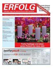 Erfolg_Ausgabe Nr. 12 - Dezember 2014