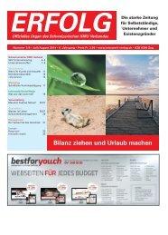 Erfolg_Ausgabe Nr. 7/8 - Juli/August 2014