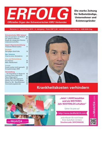 Erfolg_Ausgabe Nr. 9 - September 2015