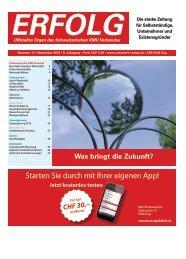 Erfolg_Ausgabe Nr. 11 - November 2015