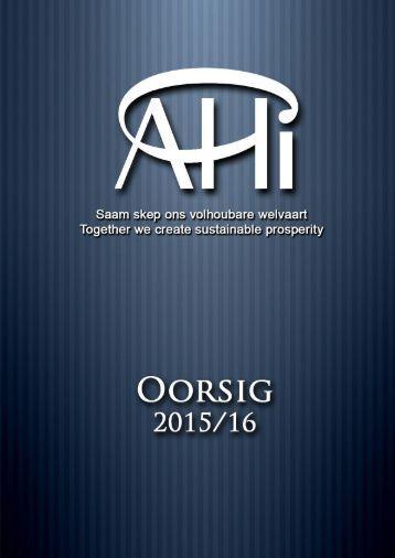 AHI OORSIG 2016 FINAAL