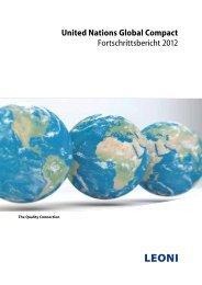 United Nations Global Compact - Leoni