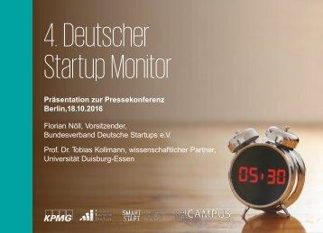 4 Deutscher Startup Monitor