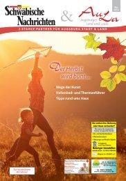 Schwäbische Nachrichten & AuLa - Oktober 2016