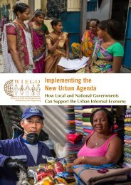 Implementing the New Urban Agenda