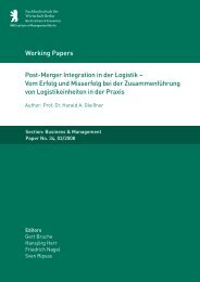 Post-Merger Integration in der Logistik - MBA Programme der HWR ...