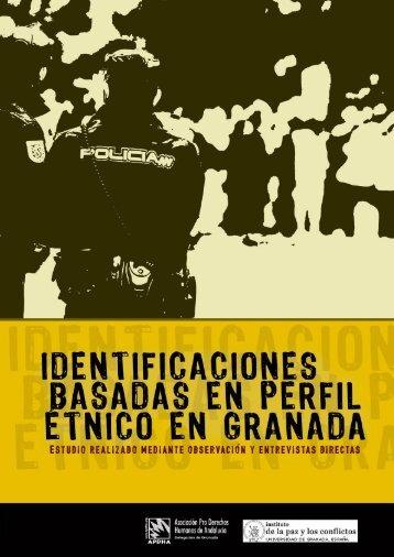 IDENTIFICACIONES BASADAS EN PERFIL ÉTNICO EN GRANADA