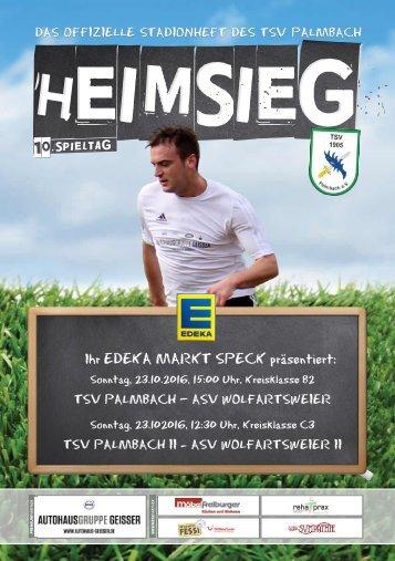 TSV Palmbach Heft-5