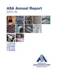 ASA Annual Report