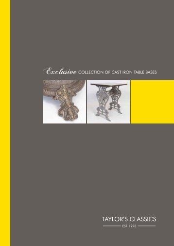 Taylor's Classics Furniture brochure