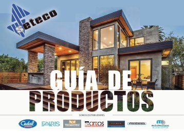 CATALOGO PRODUCTOS SETECO 2016 (R)