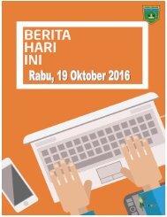 e-Kliping Rabu, 19 Oktober 2016