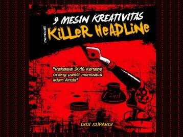 9 Mesin Kreativitas Membuat Killer Headline