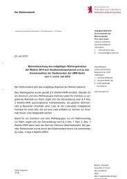 Bekanntmachung des endgültigen Wahlergebnisses ... - HWR Berlin
