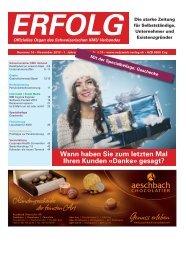 Erfolg_Ausgabe Nr. 10 - November 2013