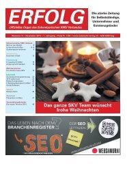Erfolg_Ausgabe Nr. 11 - Dezember 2013