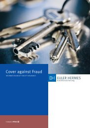 Every second company is safe - Euler Hermes Kreditversicherungs-AG
