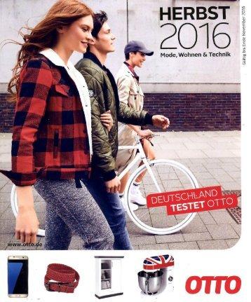 Каталог OTTO осень 2016. Заказ одежды на www.catalogi.ru или по тел. +74955404949
