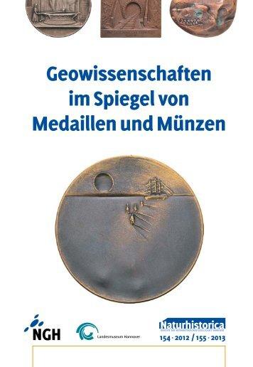 Geowissenschaften im Spiegel von Medaillen und Münzen